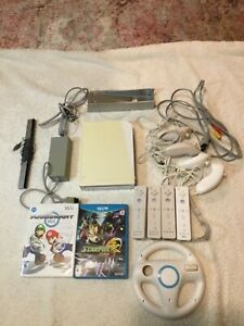 Nintendo Wii white console complete with games and accessories bundle!