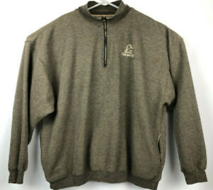 Ducks Unlimited 14 Zip Pullover XL Jacket Cotton Polyester