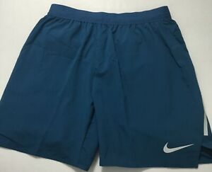 "Nike Men's Flex Stride 7"" Brief Lined Running Shorts AT4014 Blue 474 Size L $32.99"