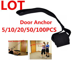 Lot Heavy Duty Door Anchor Attachment Home Workouts Resistance Trai
