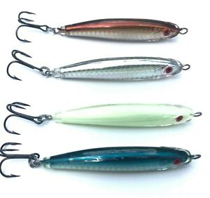 Epoxy Resin Fishing Jig (4 in./2 oz.) Great for striped bass, blues, albies, etc