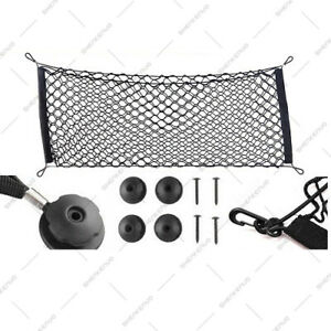 Trunk Storage Net By Car Trunk Universal Stretchable Truck Black Net with Hooks