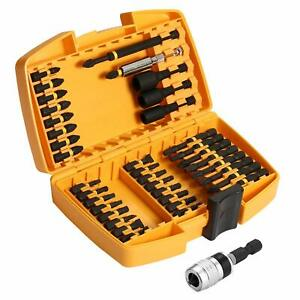 DEKO 40 Piece Screwdriver Bit Set Magnetic Impact Driver Bit Set
