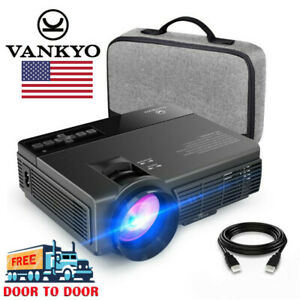 Vankyo Leisure 3 LED Projector 2400Lux 1080P Home Theater HDMI TV Laptop DVD PS3