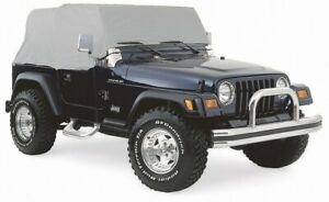 Smittybilt 1161 (IN STOCK) Water-Resistant Cab Cover 97-06 Jeep Wrangler TJ