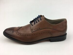 Clarks Wing Oxfords Men's Size 11 M Brown Leather 2791 $50.00