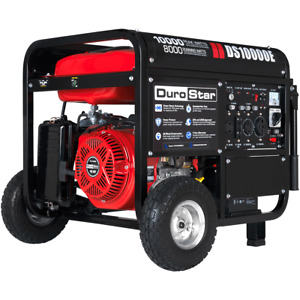 DuroStar 10000W Portable Gas Electric Start Generator Standby Camping DS10000E