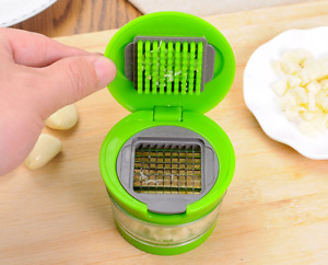 1PC Garlic Chopper Garlic Press Crusher Slicer Grater Shredder Kitchen Tool