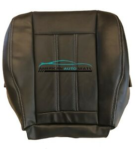 Fits 2012 Chrysler TownCountry Limited Driver Bottom Leather Seat Cover Black $159.99