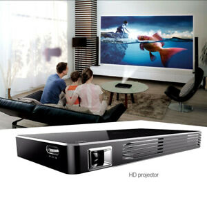 Mini Portable DLP Intelligent Projector With Built-in Rechargeable Battery