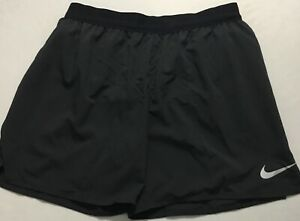 "Nike Men's Flex Stride 5"" Lined Running Shorts AT4000 Black 010 Size S"