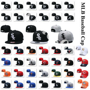 MLB Game Teams Caps Adjustable Baseball Cap NY Logo 59FIFTY Fitted Hat Men Women