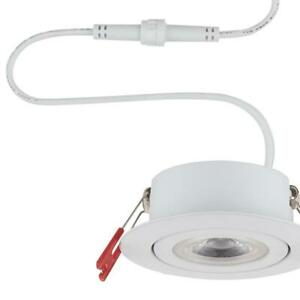 Commercial Electric Slim Spot 3 in. 3000K Soft White Canless LED Recessed Kit