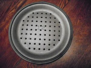 VINTAGE UNMARKED LODGE NO. 12 CAST IRON LID COVER 12 78