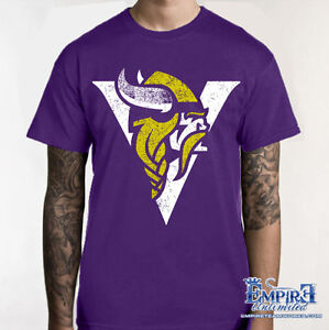 VIKINGS SHIRT VIKES Minnesota T-SHIRT Football Tee Shirt TAILGATE T V9