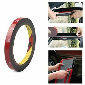 Auto Truck Car Acrylic Foam Double Sided Attachment Tape Adhesive 3m x 10mm $3.29