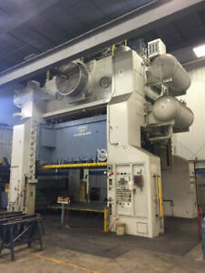 2000 Ton Capacity Danly Straight Side Press