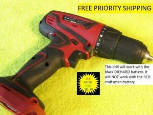 GENUINE CRAFTSMAN DRILL 20V USES BLACK DIEHARD BATTERY NEW OUT OF A COMBO $34.99