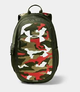 NEW NWT Under Armour Scrimmage 2.0 Backpack Brasilia Prime Guardian Green Camo $44.99