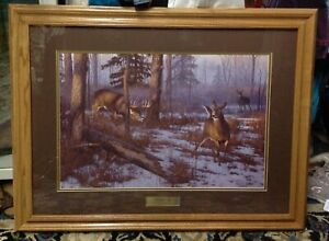 FRAMED LIMITED EDITION LITHOGRAPH SIGNED NUMBERED HAYDEN LAMBSON The Heat is On