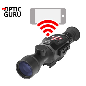ATN X-Sight II HD 3-14x Smart DayNight Rifle Scope w1080p Video BC WiFi GPS