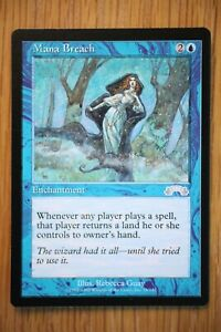 Mana Breach  Exodus *Light Play LP* (English Magic the Gathering MTG)