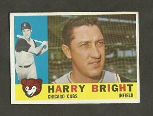 1960 TOPPS BASEBALL #277 HARRY BRIGHT    MID GRADE OR BETTER!    AP
