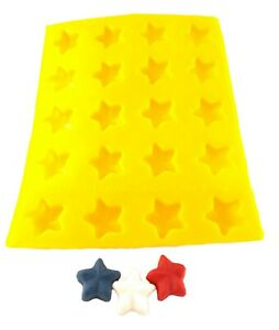 Star Cream Cheese Mint Candy Fondant Chocolate Mold 25 4th of July Christmas