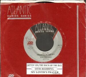 Redding, Otis - (Sittin' On) The Dock Of The Bay Vinyl 45 rpm record Free Ship