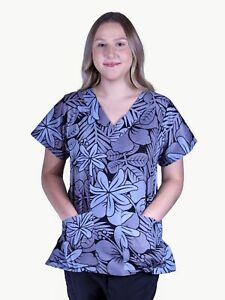 scrub tops medical topsprinted scrubs floral scrub topsgrey scrubs tops