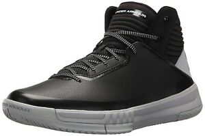 Under Armour Men's Lockdown 2 Basketball Shoes Black 1303265 003
