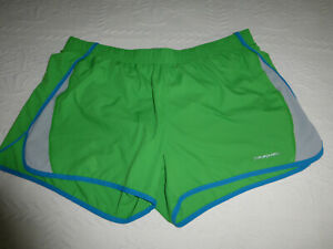 Patagonia Womens Size M Medium Running Shorts With Liner Green