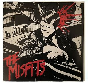 Misfits Rare Bullet Better Dead On Red Record West Germany Sleeve Final Chance!