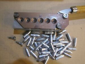 Lee Custom 6 Cavity Special Order 311041 Plain Base Bullet Mold Lead Bullet