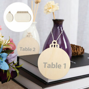 Wood Mini Chalkboard Signs Tags with Hanging Rope DIY for Weddings Message Board