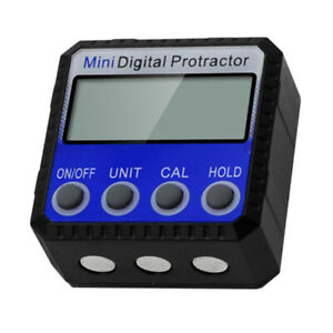 Magnetic LCD Digital Protractor Angle Finder Level Electronic Inclinometer $24.15