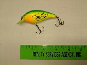 TRACY BYRD COUNTRY SINGER NORMAN CRANKBAIT FISHING LURE LISTING 0624