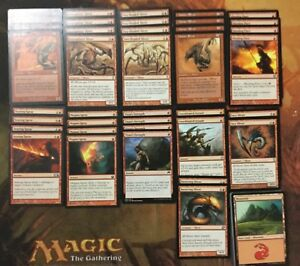 Sliver Deck - Very Powerful - MTG Magic the Gathering - Ready to Play! Red Aggro