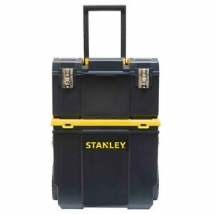 Stanley STST18613 3-in-1 Detachable Tool Box and Organizer Combo Workcenter