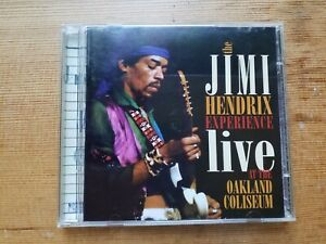 Live At The Oakland Coliseum by The Jimi Hendrix Experience (2-CD, 1998, Dagger