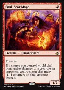 4x Soul-Scar Mage NM-Mint, English Amonkhet MTG Magic