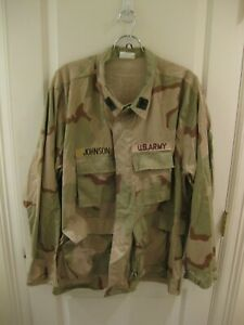XXLarge - Regular Vtg US Army Coat Shirt Desert Camouflage Combat Mens Tri camo
