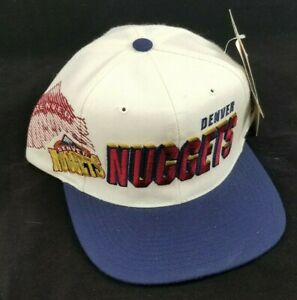 Sports Specialties Denver Nuggets Shadow Font Hat - Vintage 90's
