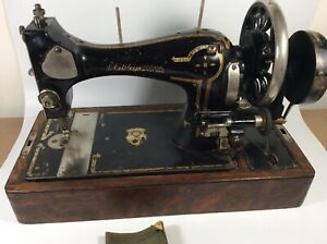 Whitley's Universal Hand Crank Antique Sewing Machine $250.00