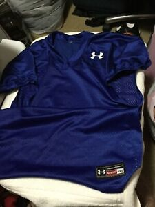 Youth Under Armour Sz XL Football Shirts  Made For Wearing Over Shoulder Pads(2)