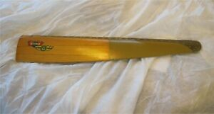 1940s Antique Wooden Propeller Aviation For Aeronca By Sensenich Cased in Brass $299.99