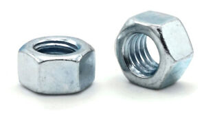 Zinc Plated Grade 5 Steel Hex Nuts Grade 5 Zinc Finished Nuts - 14