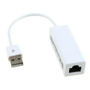Ethernet RJ45 To Micro USB 2.0  10100Mbps Network Lan Adapter Card Cable