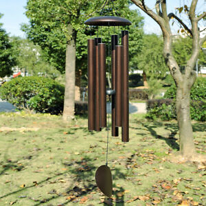 45quot; LARGE Metal Tube Deep Tone Resonant Bass Sound CHURCH Bell Wind chime $46.99