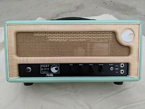 Port City Pearl 100W Tube Head Amp seafoam green 100 watt